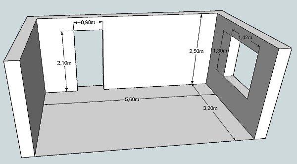 Как рассчитать периметр комнаты